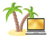Netbook ür Reisen und Ferien